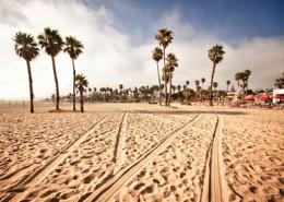 Santa Monica Beach, California, USA